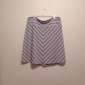 Chevron print skirt by Old Navy size 20